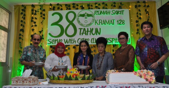 Seremoni Perayaan Ulang Tahun ke-38 RS Kramat 128