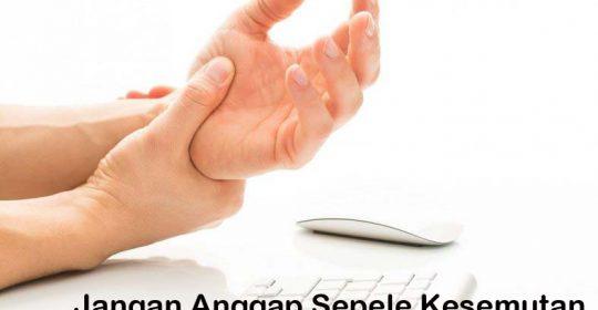 MENGENAL PENYEBAB DAN RISIKO KESEMUTAN